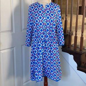Preppy Tracy Negoshian Pom Pom Tiana dress NWT L